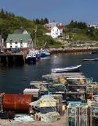 Nova Scotia fishing village