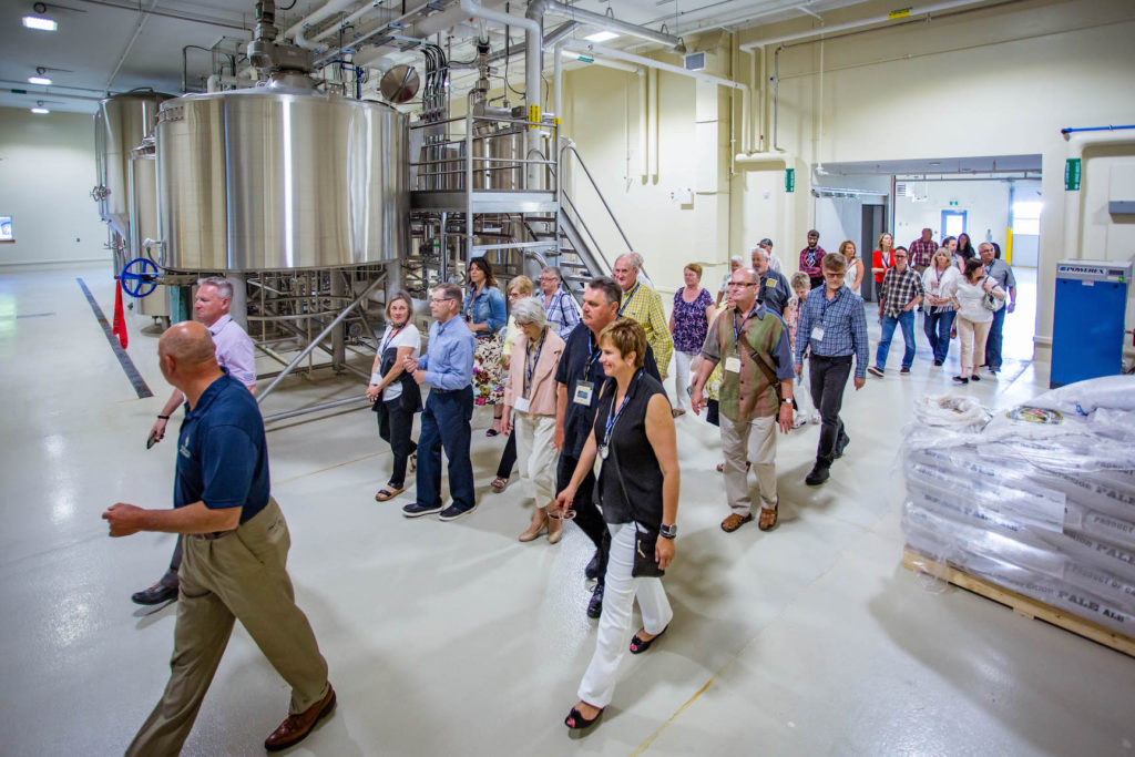 Guide tour at the Authentic Seacoast Distillery