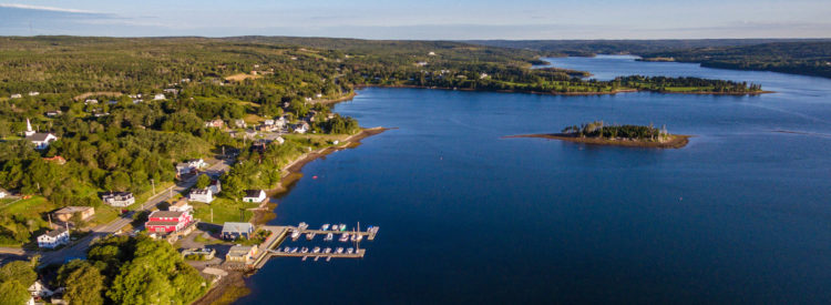 Scenic photo of Guysborough harbour